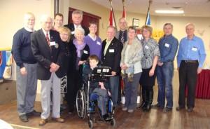 Rotary-Easter Seals Ambassador-Club members Summerside