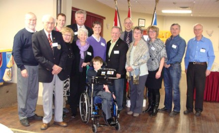 Rotary-Easter Seals Ambassador-Club members Summerside